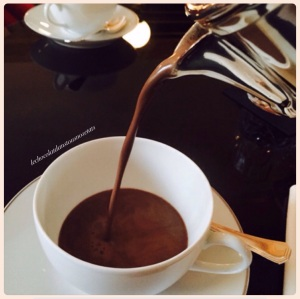 Le chocolat chaud de Nicolas PACIELLO, la Réserve, Paris